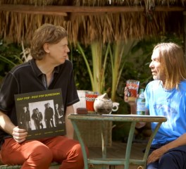 Iggy Pop και Thurston Moore συζητούν και τζαμάρουν σε video 22 λεπτών