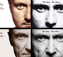 O Phil Collins ξαναφωτογραφήθηκε για τα δικά του παλαιότερα εξώφυλλα