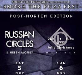Νέος χώρος διεξαγωγής για το Smoke The Fuzz Fest - Post Mortem Edition