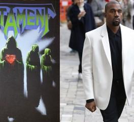 Ο Kanye West φωτογραφίζεται με μπλούζα Testament, ο Alex Skolnick τα χώνει!