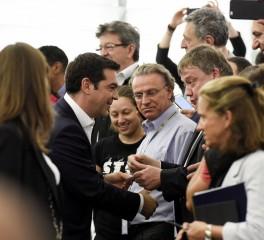 """Υποδοχή του Πρωθυπουργού με το """"The Final Countdown"""" στη Διεθνή Έκθεση Θεσσαλονίκης"""