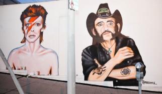 Βιβλία με σκίτσα για τον Lemmy και τον David Bowie