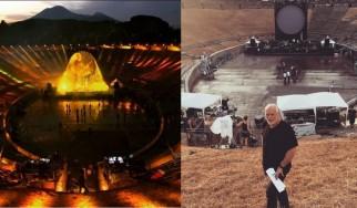 Ο David Gilmour επιστρέφει στην Πομπηία 45 χρόνια μετά