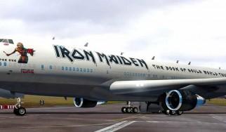 Δείτε από κοντά το νέο Ed Force One των Iron Maiden