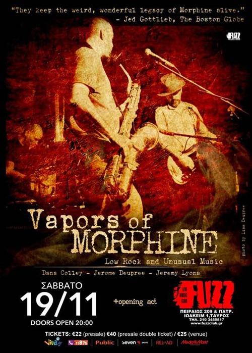 Vapors Of Morphine Αθήνα @ Fuzz Club