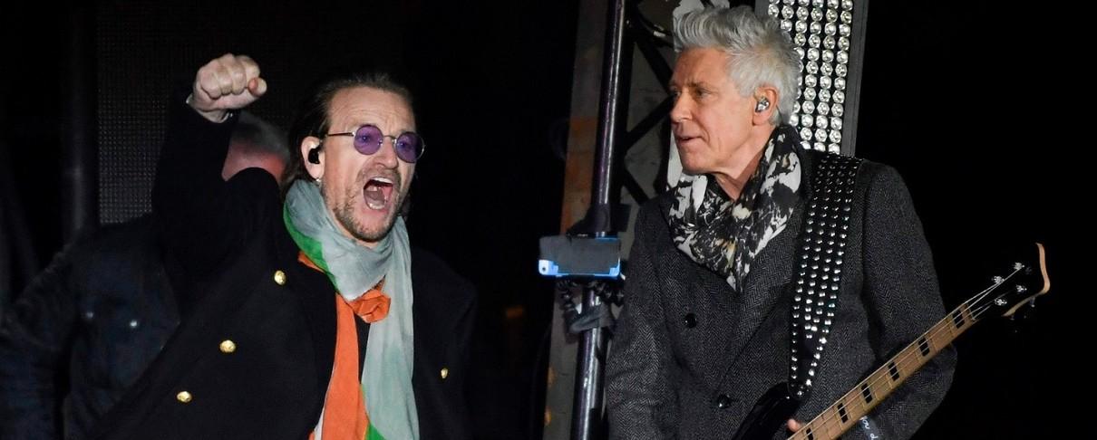 Οι U2 live στην Trafalgar Square του Λονδίνου