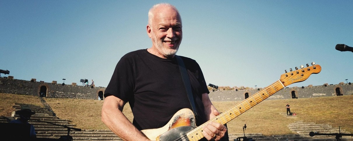 Trailer από την ιστορική εμφάνιση του David Gilmour στην Πομπηία