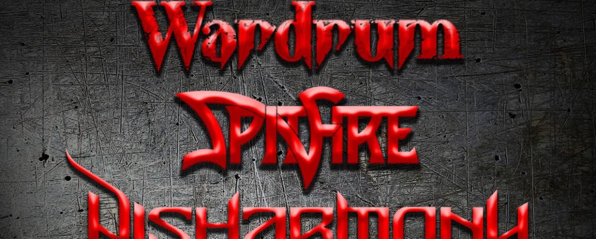 Wardrum, Spitfire και Disharmony «ανεβαίνουν» στο Κύτταρο