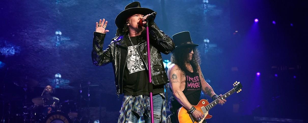 Με 4ωρο show έκλεισαν την περιοδεία τους οι Guns N' Roses