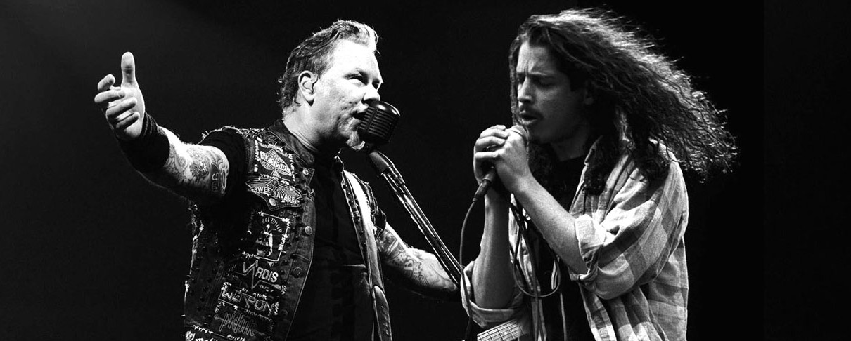 O James Hetfield μιλά για τον θάνατο του Chris Cornell