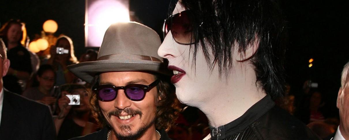 Marilyn Manson και Johnny Depp σε ακατάλληλο video