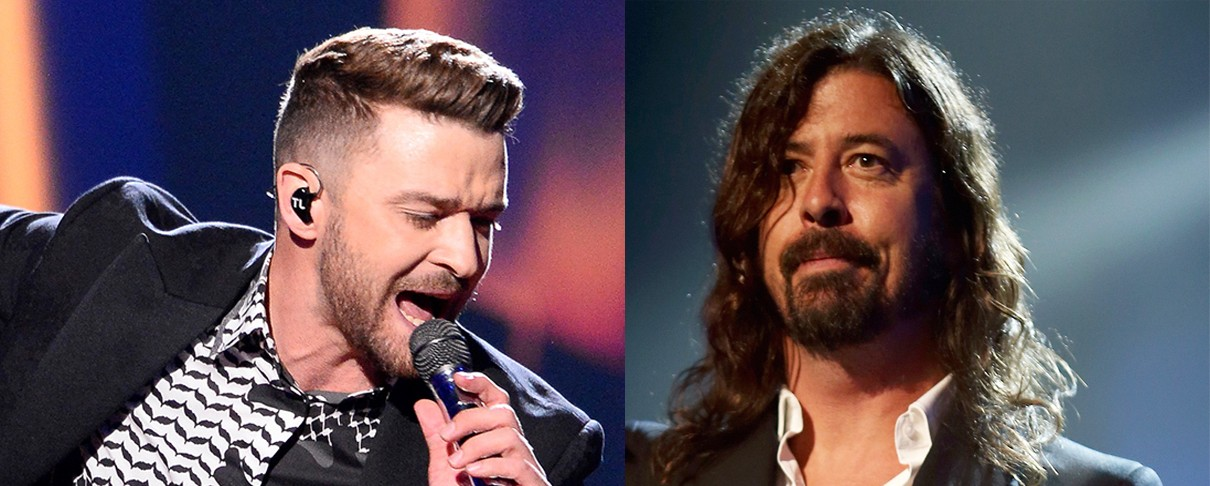 Kαι ο Justin Timberlake στο δίσκο των Foo Fighters