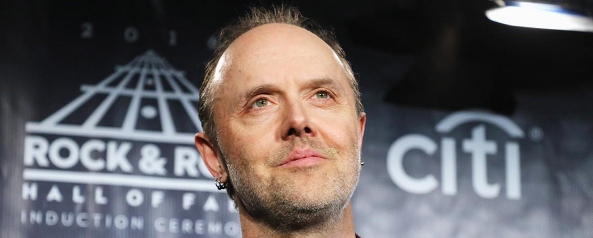Ο Lars Ulrich διακωμωδεί το χαλασμένο μικρόφωνο των Grammys (video)