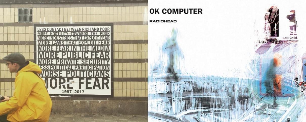 Ανήκουν στους Radiohead οι αινιγματικές αφίσες που τους αποδίδουν οι fan;
