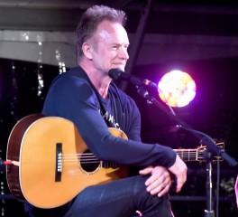 Δείτε τον Brad Pitt να παρουσιάζει τους Sting και Chris Cornell σε φιλανθρωπική εκδήλωση