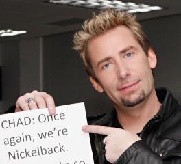 Ο Chad Kroeger των Nickelback προκαλεί τον Corey Taylor να γράψει ένα hit