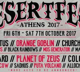 Οι τελικές τιμές εισιτηρίων και δύο ακόμα ονόματα για το Desertfest Athens