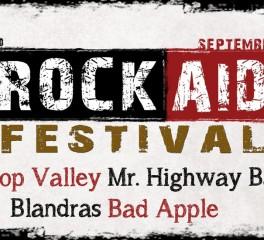 Το Rock Aid Festival επιστρέφει τον Σεπτέμβριο στη Νίκαια