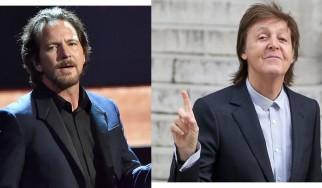 Ο Paul McCartney ρίχνει μια ...γροθιά στον Eddie Vedder
