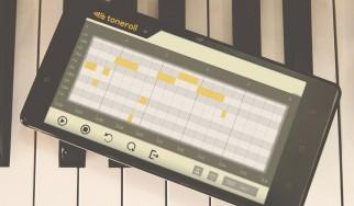 Toneroll: Μετατρέψτε τη μουσική από το μικρόφωνο σε νότες