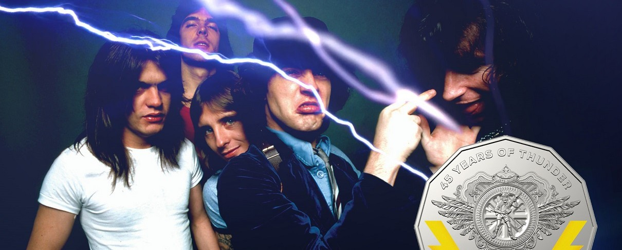 Οι AC/DC σε νόμισμα…
