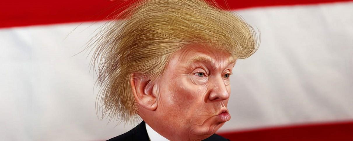 """Ο Donald Trump «ερμηνεύει» το """"Raining Blood"""" των Slayer (video)"""