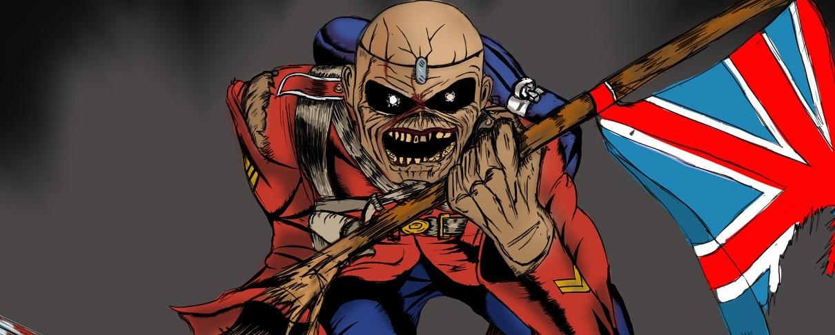 Ο Eddie απαγάγει τον stage manager των Iron Maiden…