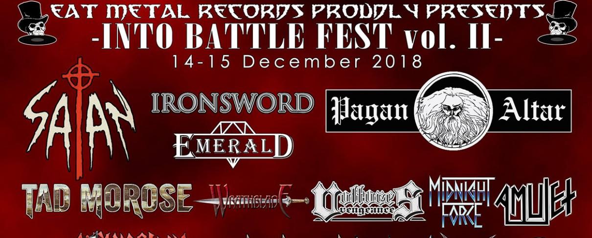 Αυτό είναι το τελικό line-up του δεύτερου Into Battle Festival