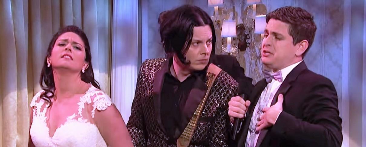 Ο Jack White σε παράξενο ερωτικό τρίγωνο του Saturday Night Live (video)