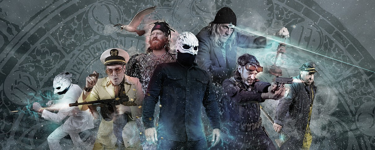 To supergroup των Legend Of The Seagullmen προχωρά στις …συστάσεις