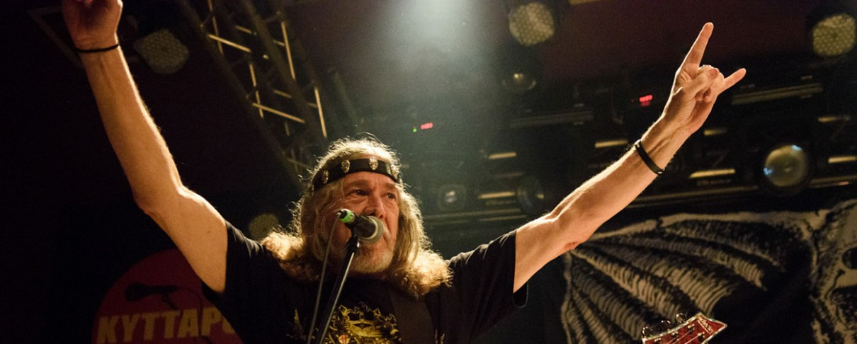 Και οι Manilla Road headliners στο Up The Hammers XIII