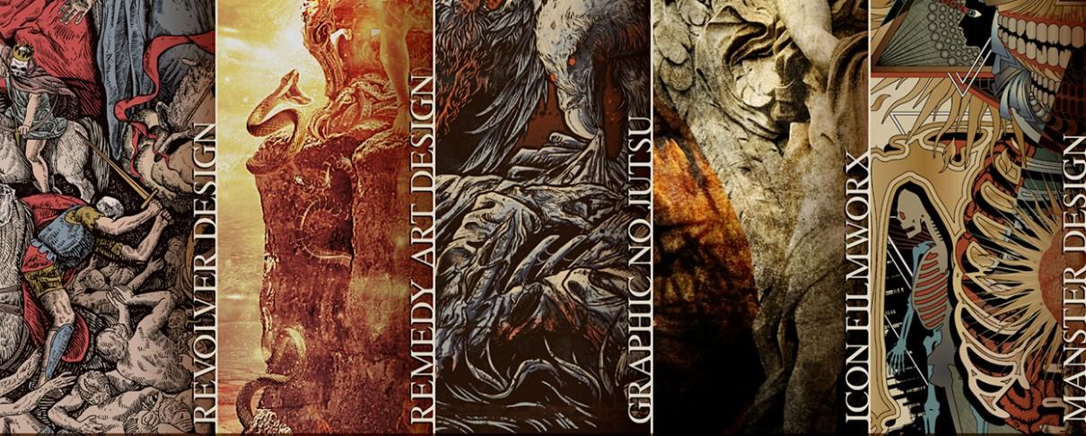 Μια γραφιστική έκθεση με πολύ... metal έρχεται στην Αθήνα