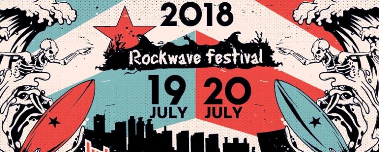 Rockwave Festival 2018: Οι ώρες εμφάνισης των συγκροτημάτων για 19 και 20 Ιουλίου