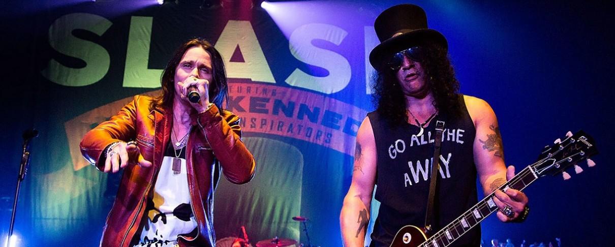 Το «αντίδοτο» των Slash ft Myles Kennedy And The Conspirators