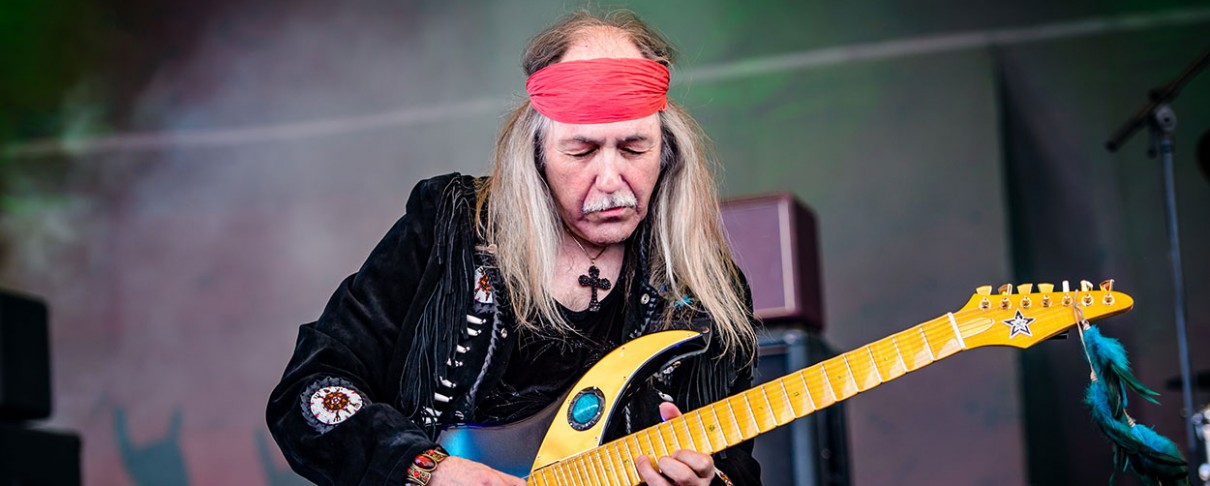 Ο Uli Jon Roth στο Chania Rock Festival
