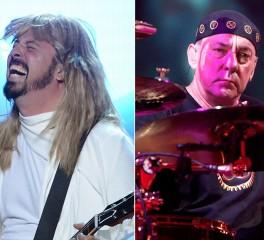 Θα αντικαθιστούσε ο Dave Grohl τoν Neil Peart στους Rush;