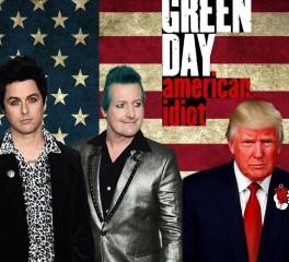 """Το """"American Idiot"""" των Green Day στο No.1 των charts για την επίσκεψη Trump στη Βρετανία"""