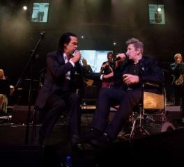 Nick Cave, Bono και Sinead O' Conor στα γενέθλια του Shane MacGowan
