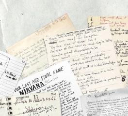 O γραφικός χαρακτήρας των David Bowie, Kurt Cobain και John Lennon γίνεται ...γραμματοσειρά