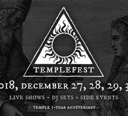 Καταφθάνει το πρώτο Templefest