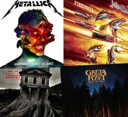 Τα δέκα πιο εμπορικά rock και metal άλμπουμ για το πρώτο μισό του 2018