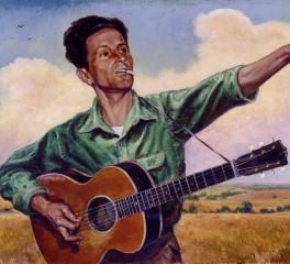 Ακυκλοφόρητο κομμάτι του Woody Guthrie στο φως της δημοσιότητας