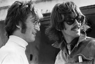 Ακυκλοφόρητο video με τον John Lennon και τον George Harrison στο στούντιο