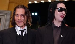 O Johnny Depp στη μπάντα του Marilyn Manson;
