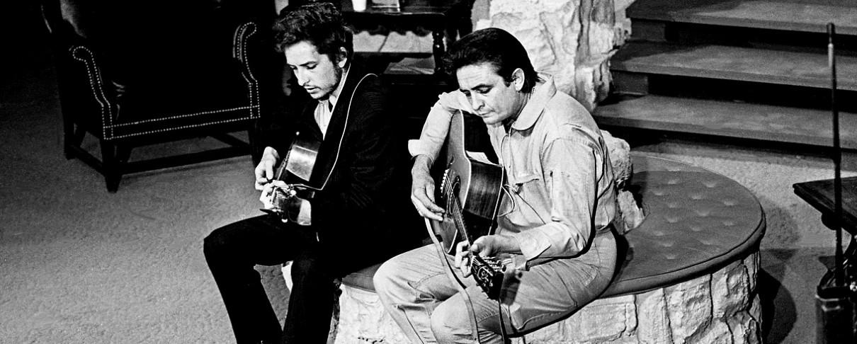 "Bob Dylan και Johnny Cash τραγουδούν το ""Wanted Man"""
