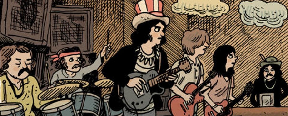 Η ιστορία των Grateful Dead σε κόμικ