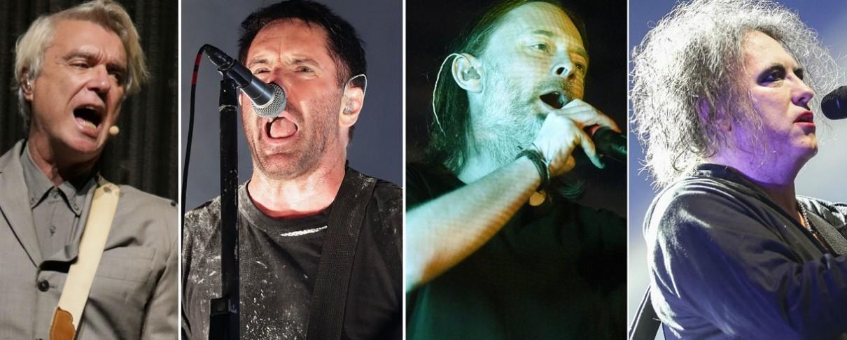 David Byrne και Trent Reznor εισάγουν Radiohead και Cure στο Rock Αnd Roll Hall Οf Fame