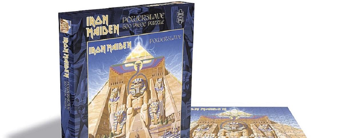 Παζλ με εξώφυλλα των Iron Maiden, Slayer, Judas Priest και Motorhead