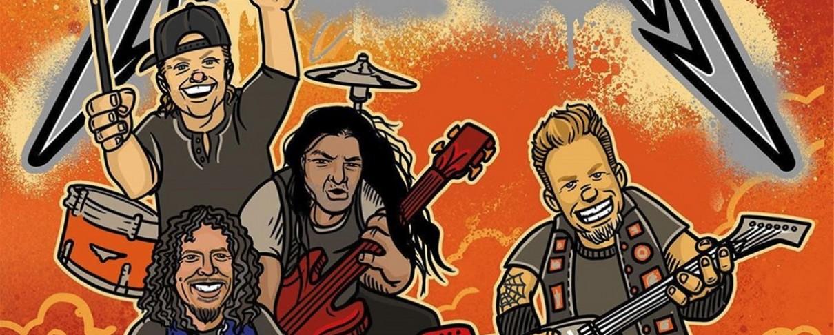 Ένα εικονογραφημένο βιβλίο για παιδιά από τους Metallica