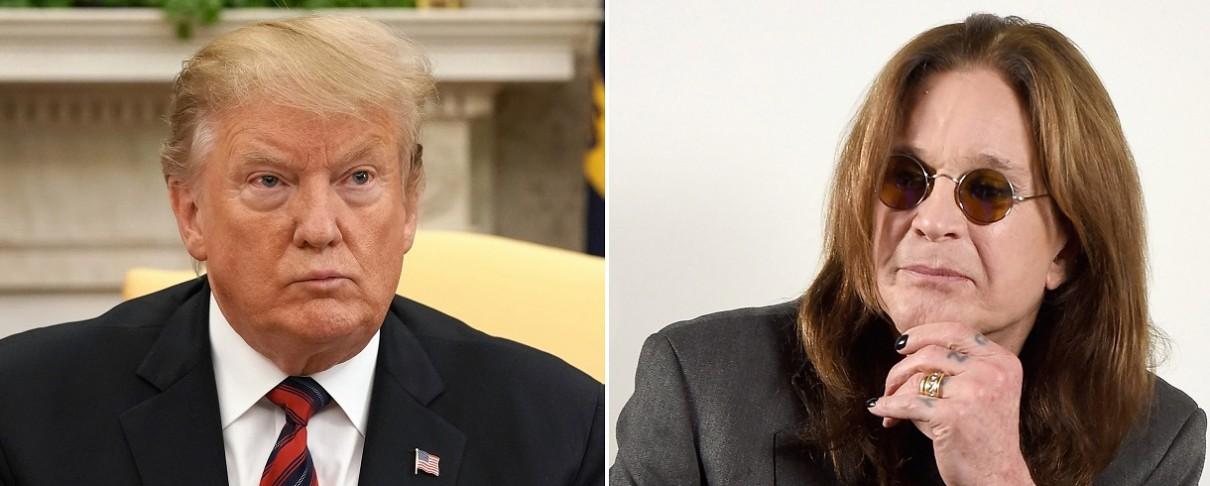 Ozzy Osbourne vs Donald Trump
